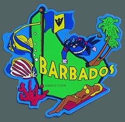 barbados-country-magnet