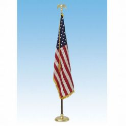 12' Presentation Set W/ 5'x8' US Flag