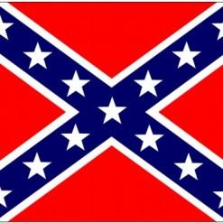 "2'x3' Printed Nyl. Confederate ""Battle Flag"""