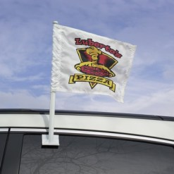 11x15 Inch Printed Nylon Custom Car Flag