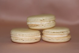 Yes, we did a macaron photoshoot, complete with a pretty backdrop.