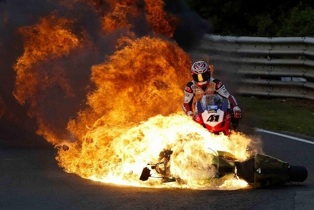 moto caliente