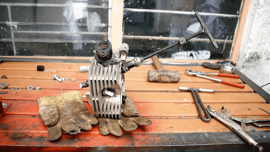 extractor de válvulas casero