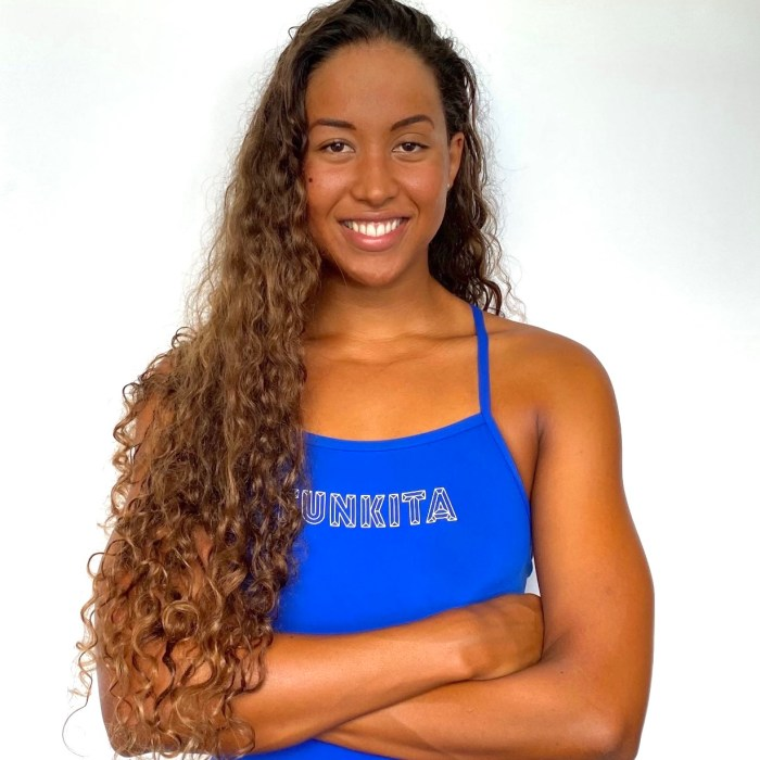 Felicity Passon, Olympic swimmer from the Seychelles.