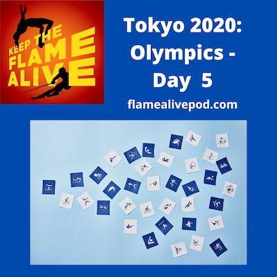 Tokyo 2020: Olympics - Day 5