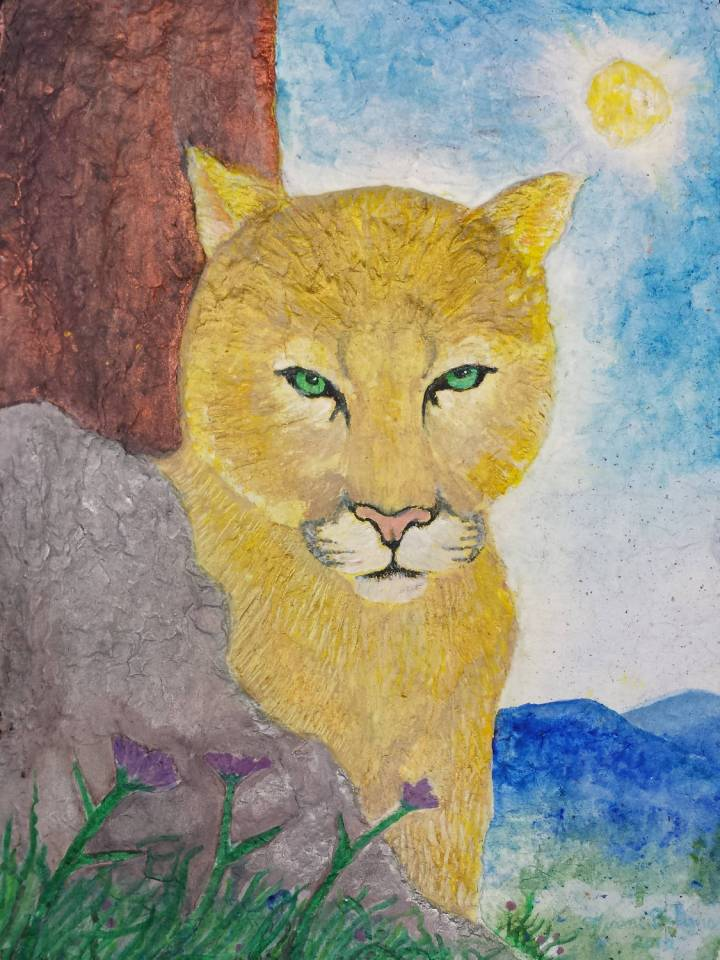 Virginia Mountain Lion copyright 2015 by Flame Bilyue