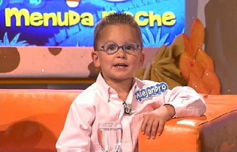 Imagen de Alejandro en Menuda Noche con 3 años