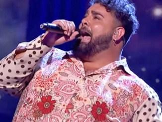 Rafael El bomba cantando Mi Marciana