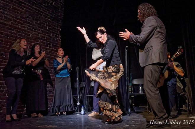 Pellizco Flamenco, Théâtre Ste-Catherine (Montréal) 6 juin 2015