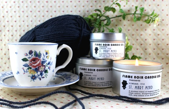 St. Mary Mead - Miss Marple Inspired Soy Wax Candle