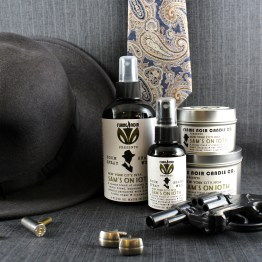 Sam's on 10th - Archie Goodwin inspired all natural soy candle + room spray set by Flame Noir Candle Co.