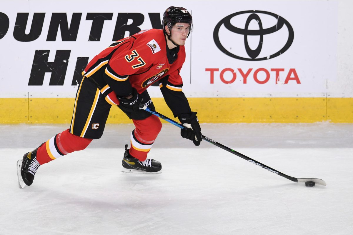 Rookie Post-Game: Young Flames grind out a win against Edmonton