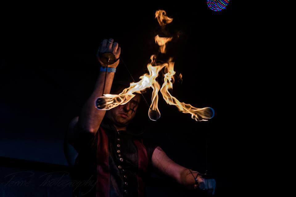 Jandro Fuego Houston Fire Performer