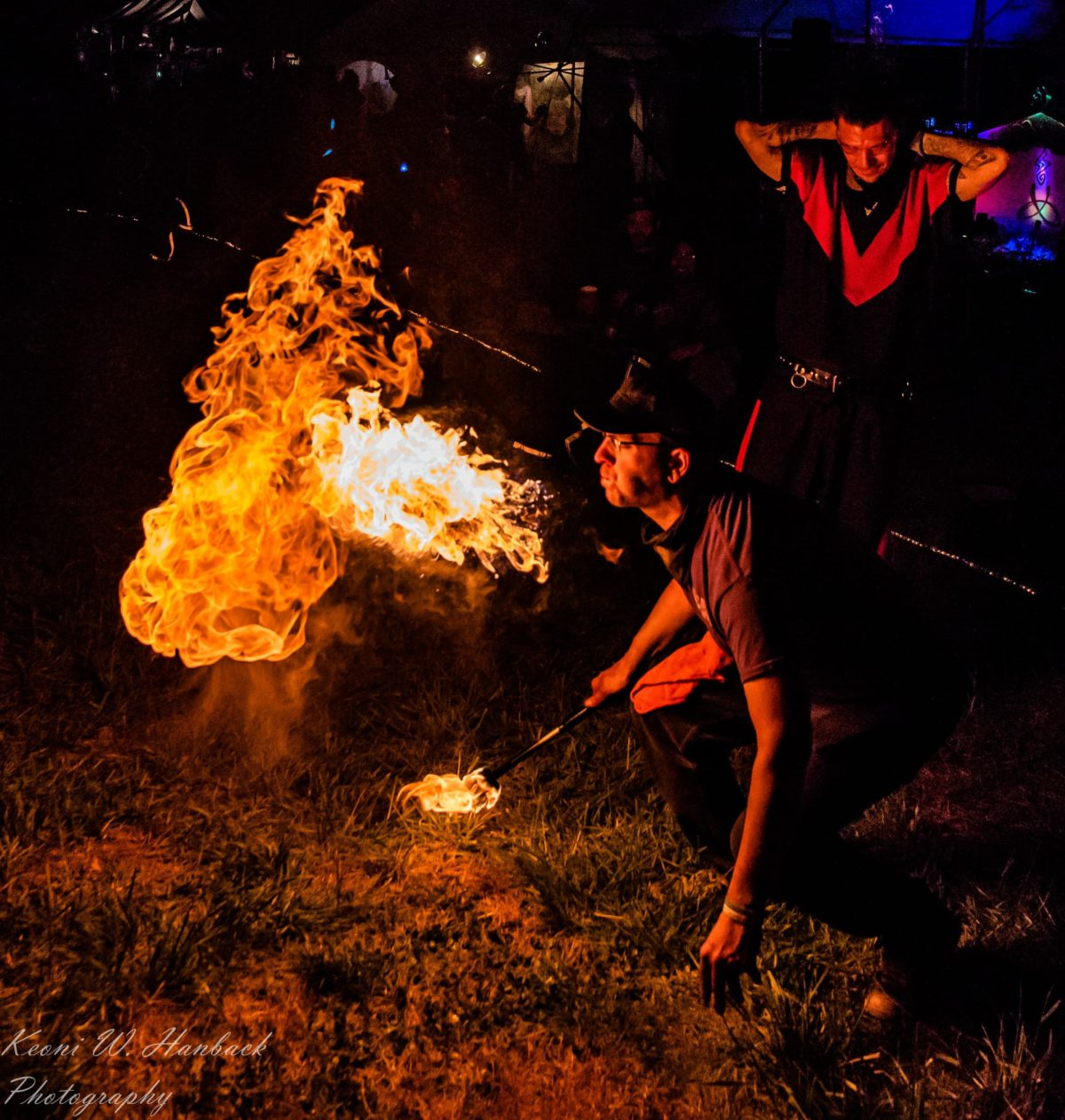 Nashville Fire Breather Zeus Bigalow Flamewater Circus