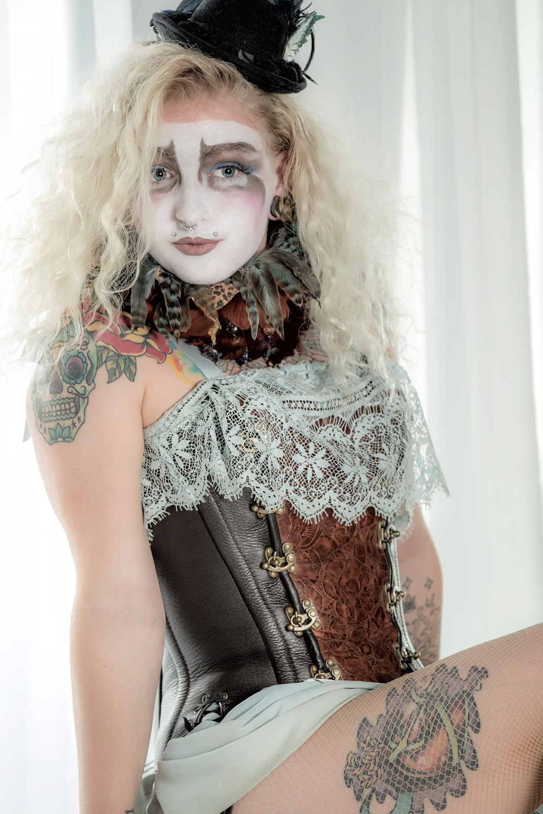 Los Angeles Circus Show Samantha Sapphire Flamewater Circus