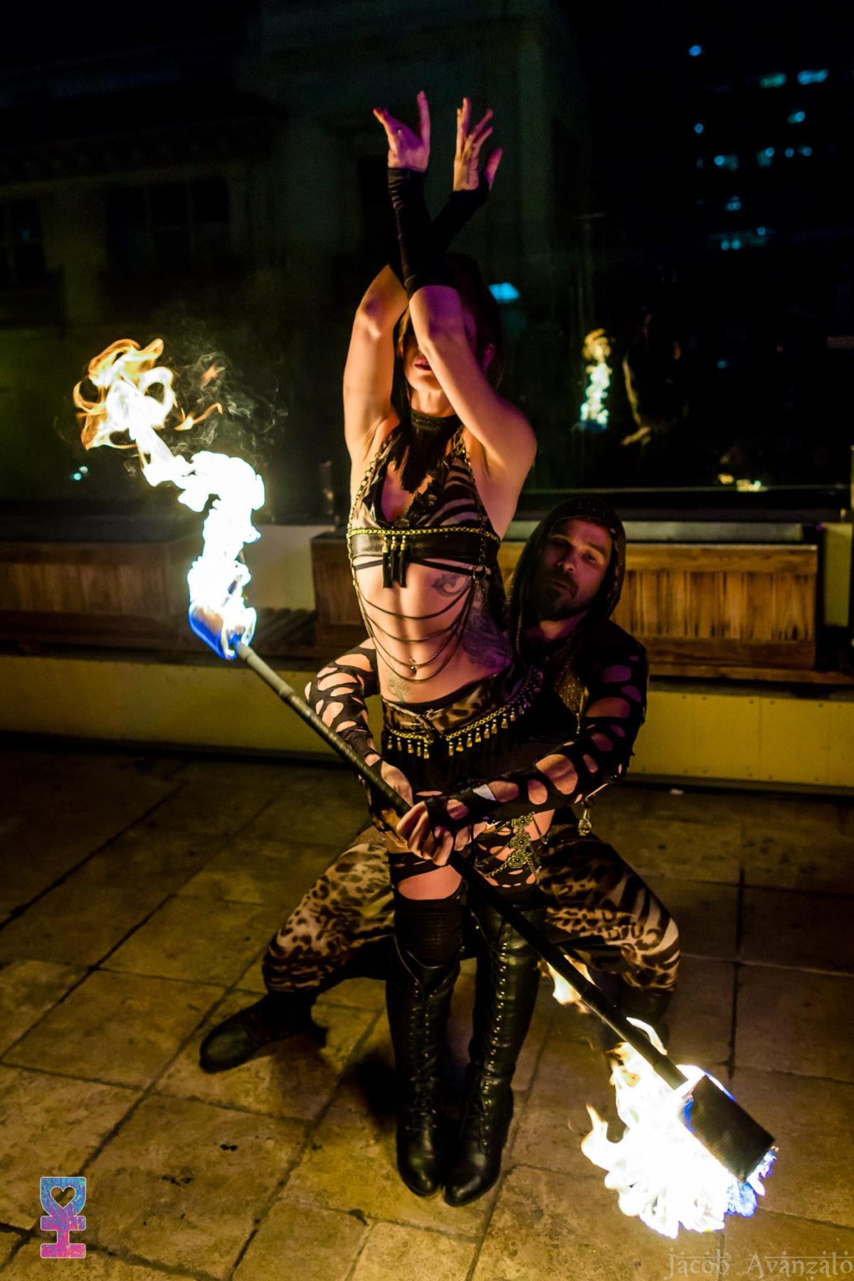 Los Angeles Show Flamewater Circus