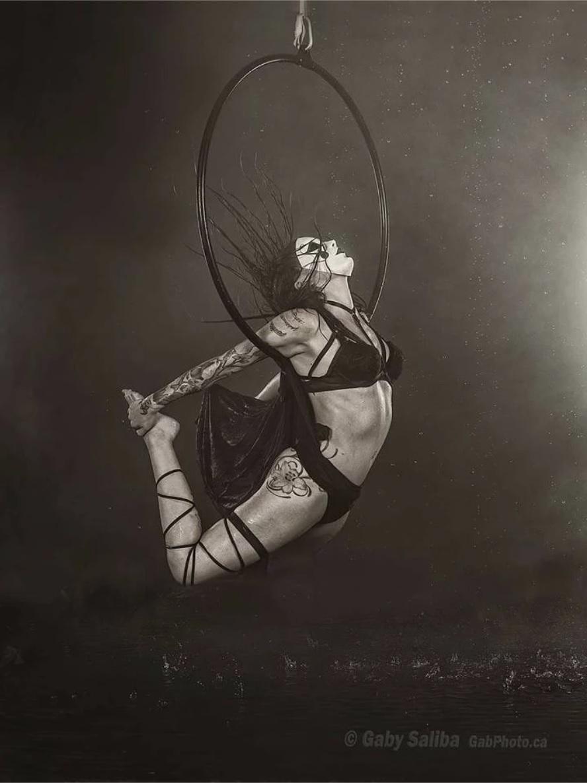 Kitty Kosmic Tattoo Model Circus Show Flamewater Circus