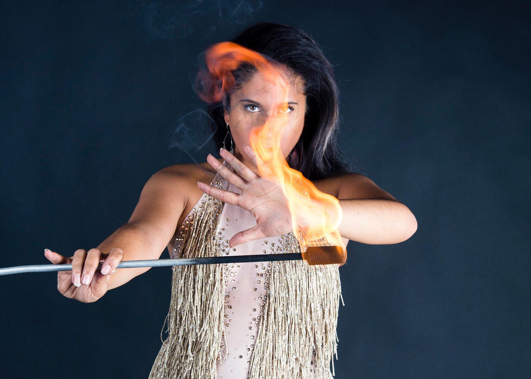 New York Fire Performer Brittny Flamewater Circus (4)