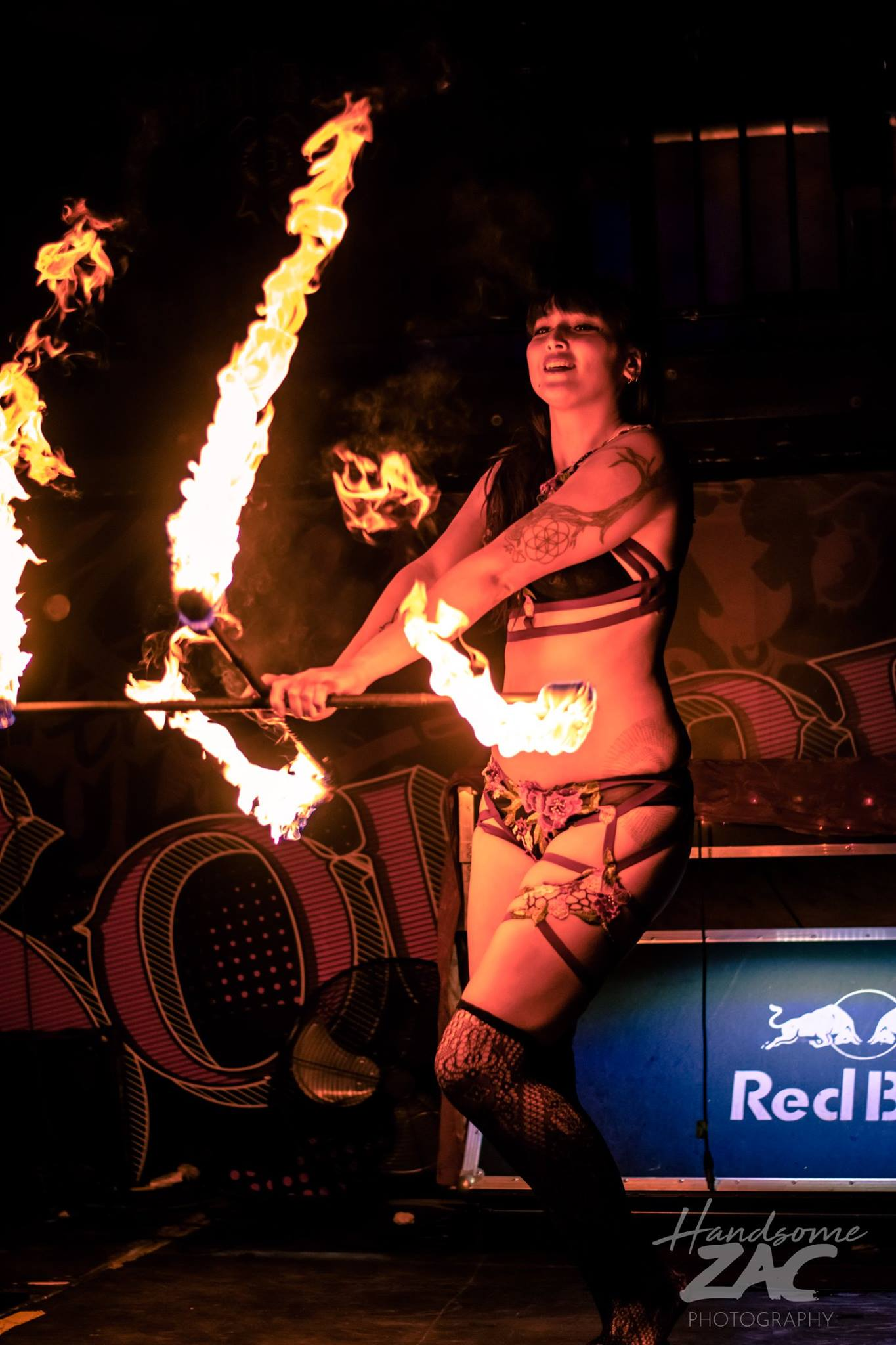 Ottawa Fire Performer Kaylie Flamewater Circus
