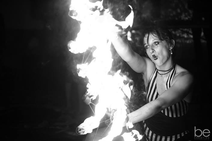 Tampa Fire Performer Rose Flamewater Circus (2)