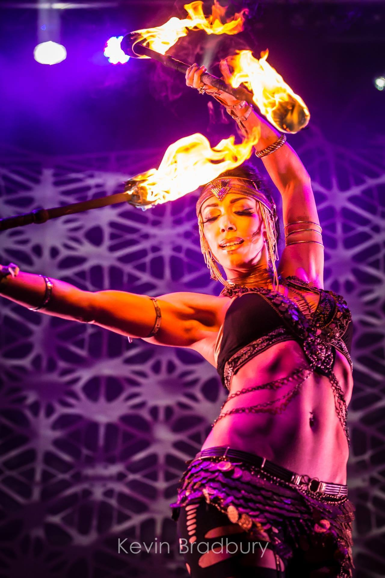 Vancouver Fire Performer Kosmic Kitty Flamewater Circus (2)