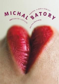 affiche de Michal Batory pour son exposition