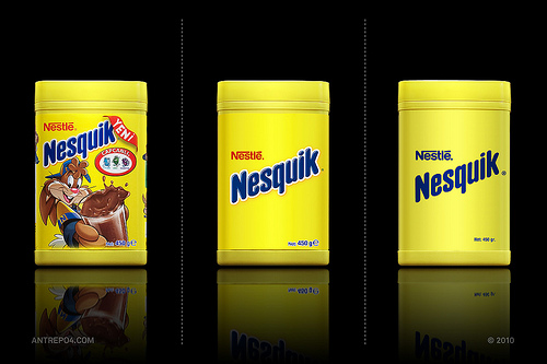 Packaging Nesquik