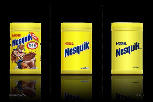 Packaging Nesquik