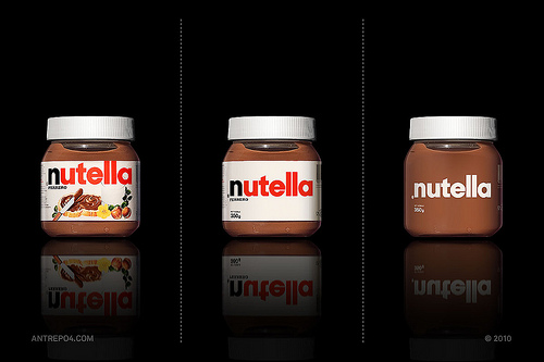 packaging Nutella