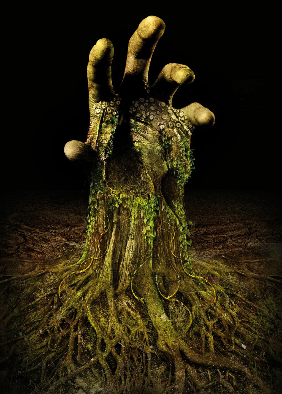 Tutorial photoshop un arbre effrayant flamidon - Arbre a faible racine ...