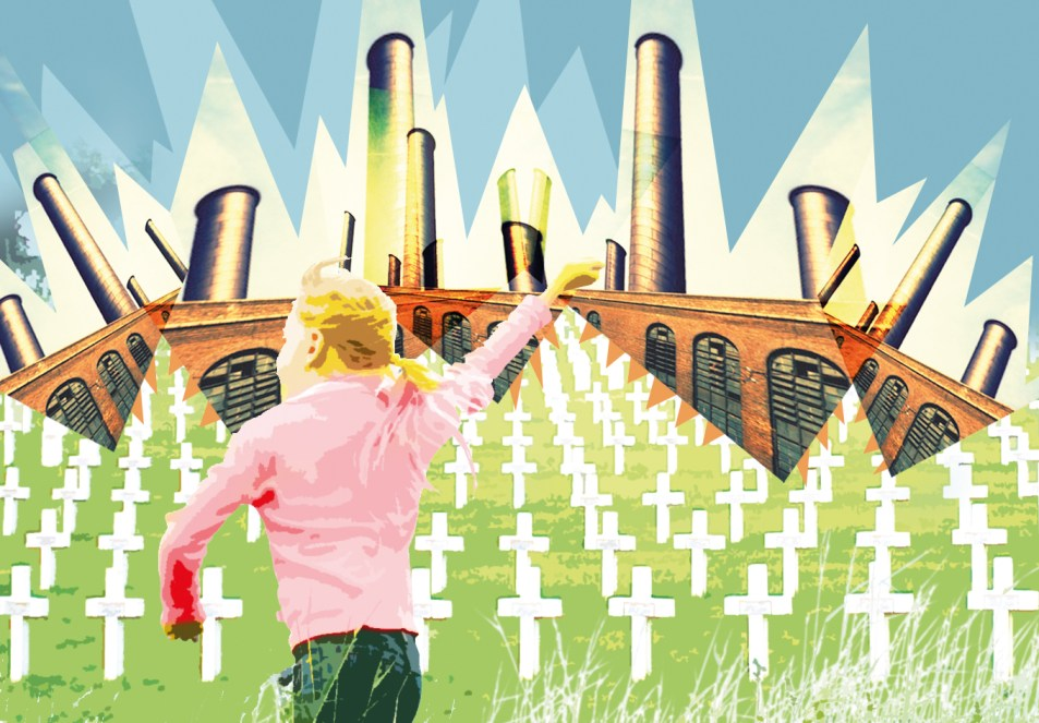 Illustration personnelle - Le cimetière américain de Thierry Hesse