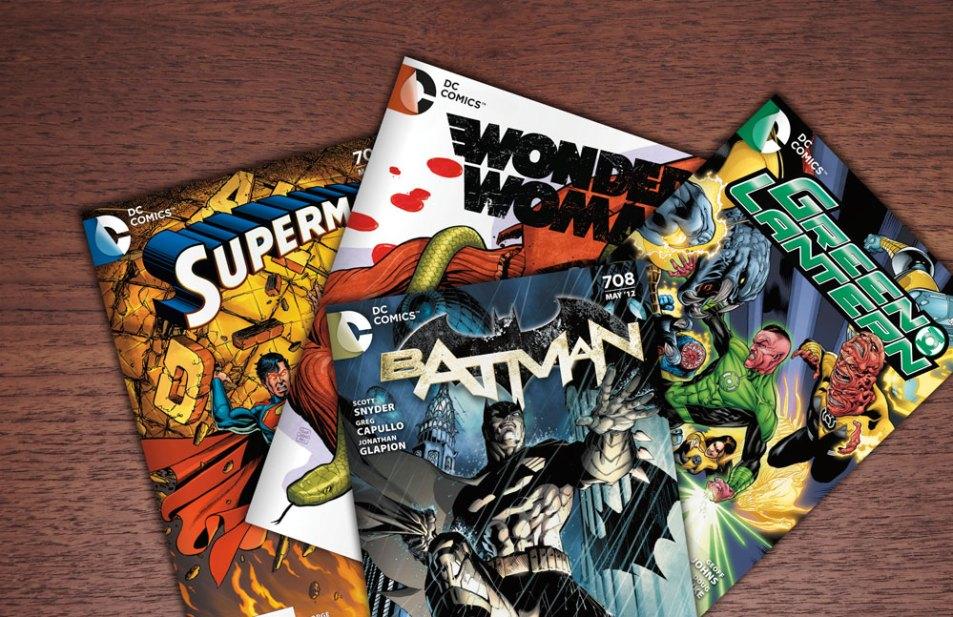Logo DC Comics sur les comics