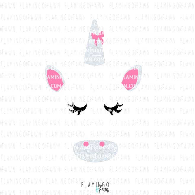 Unicorn Face Svg Animal Unicorn Svg Files For Your