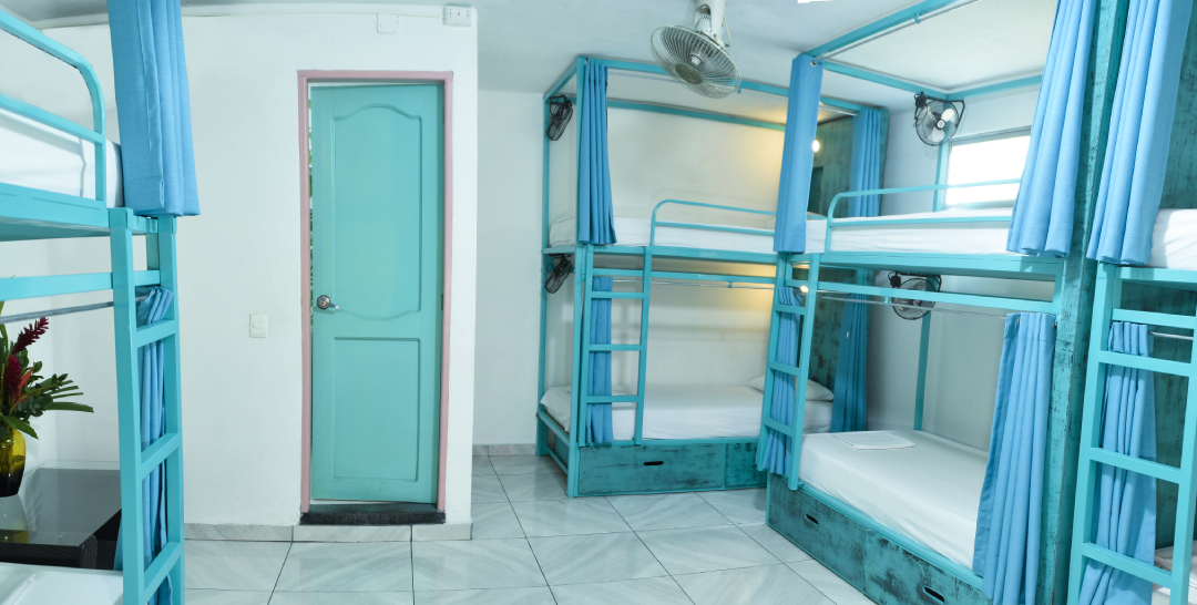 8-Bed Dorm with private bathroom