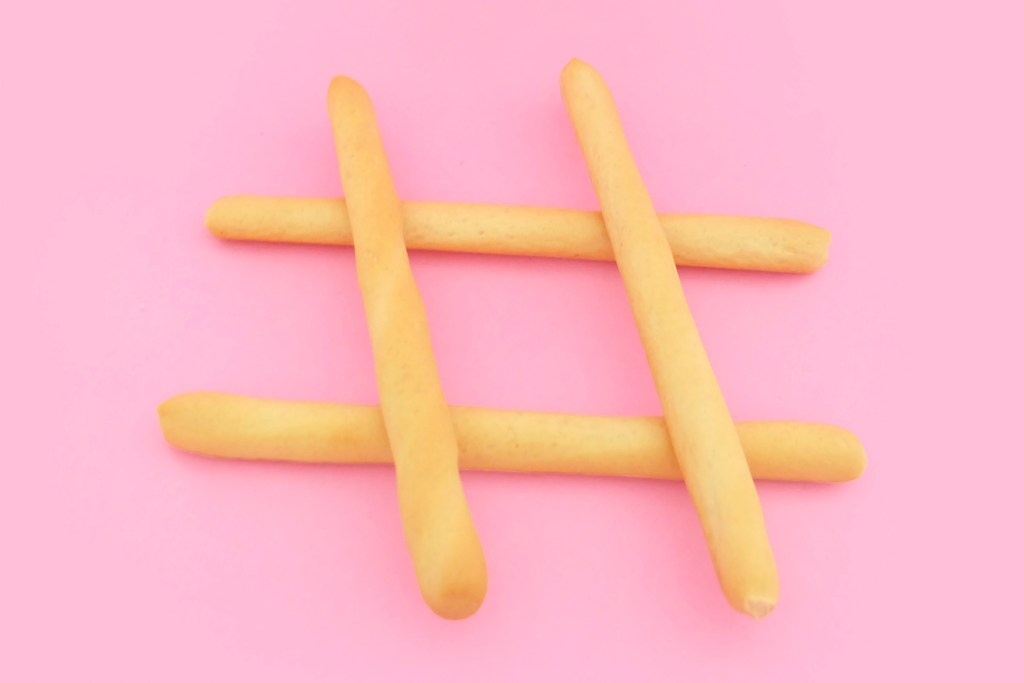 Social Media Marketing - Hashtag fries