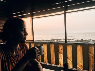 sea side cafe Bandra