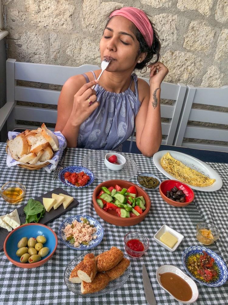 Alacati near izmir, turkey