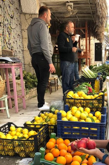Local markets in Alacati