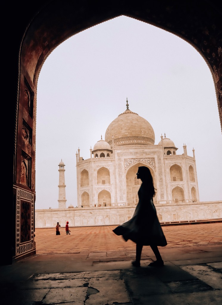 Photography tip for clicking Taj Mahal