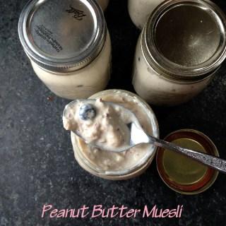 Peanut Butter Muesli   Flamingo Musings