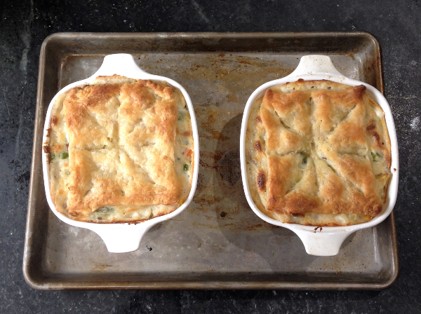Vegetable Gorgonzola Pot Pie | Flamingo Musings