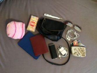 Mini Handtasche als Handgepäck