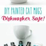 Diy Cat Mugs Dishwasher Safe Home Decor Flamingo Toes