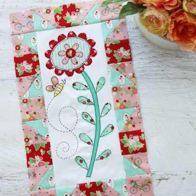Save the Bees Quilt A Long – Block One