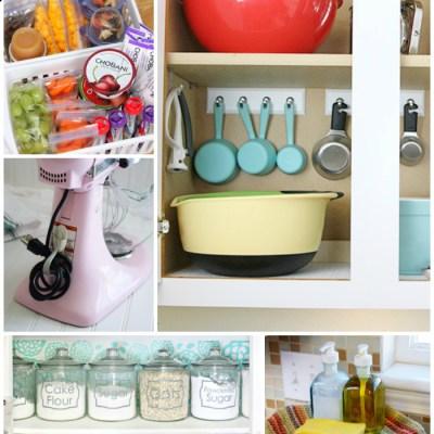 Creative Kitchen Organizing Ideas