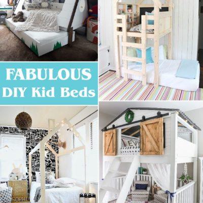 Creative DIY Kids Beds