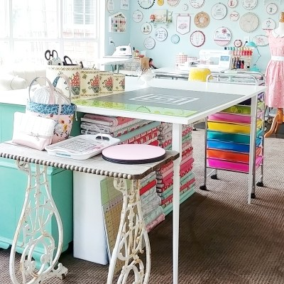 Sewing Room Studio Reveal
