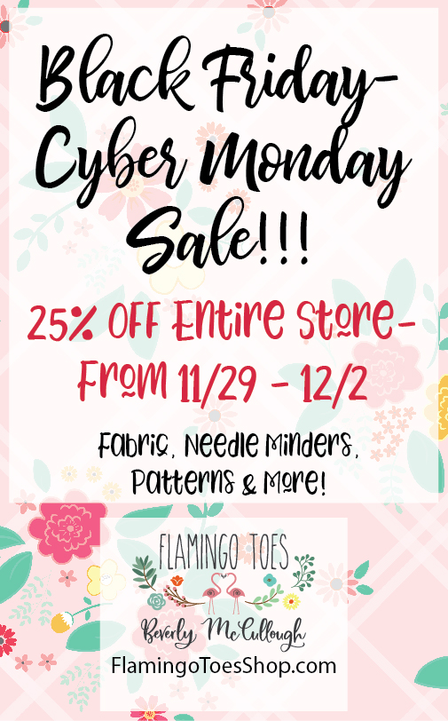 The Best Black Friday & Cyber Monday Sewing Sales featured by top US sewing blog, Flamingo Toes.