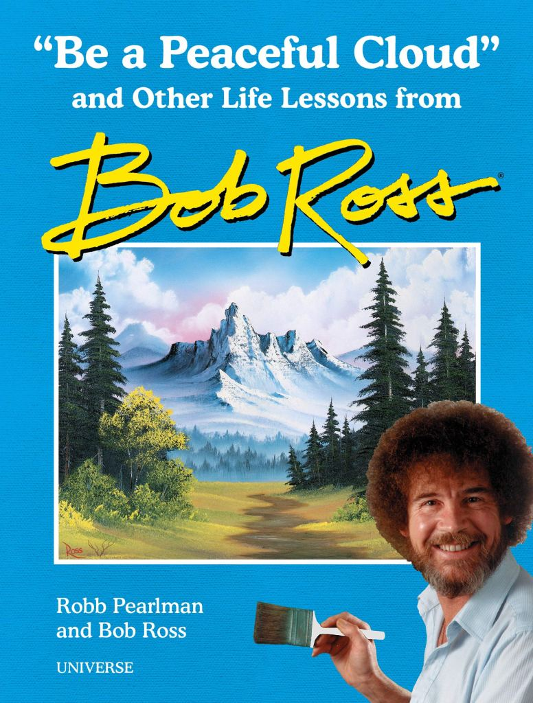 """Gift Ideas for """"Grown Ups""""! by popular Tennessee life and style blog, Flamingo Toes: image of Be a Perfect Cloud Bob Ross book."""