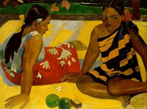 Gauguin, Parau api, 1892